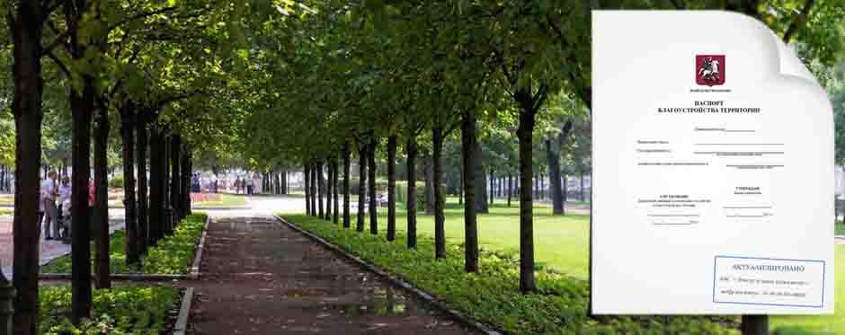 деревья паспорт благоустройства