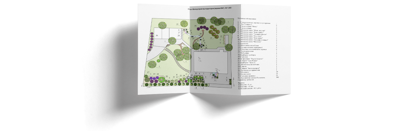 план озеленения